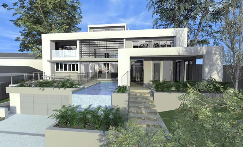 atrium house killara new home concept in 3d designed by all