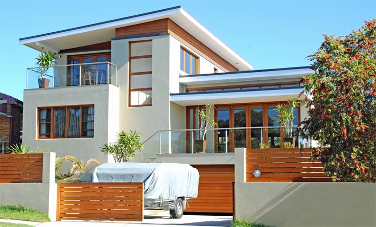 Architect designed home renovations all australian for House facade renovation ideas