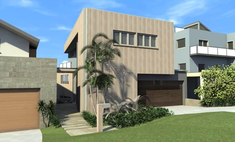 Beach Shack Qeenscliff - Design Concept by All Australian Architecture