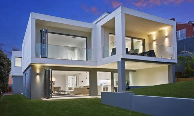 Architect design new home cube house seaforth sydney Cube house plans