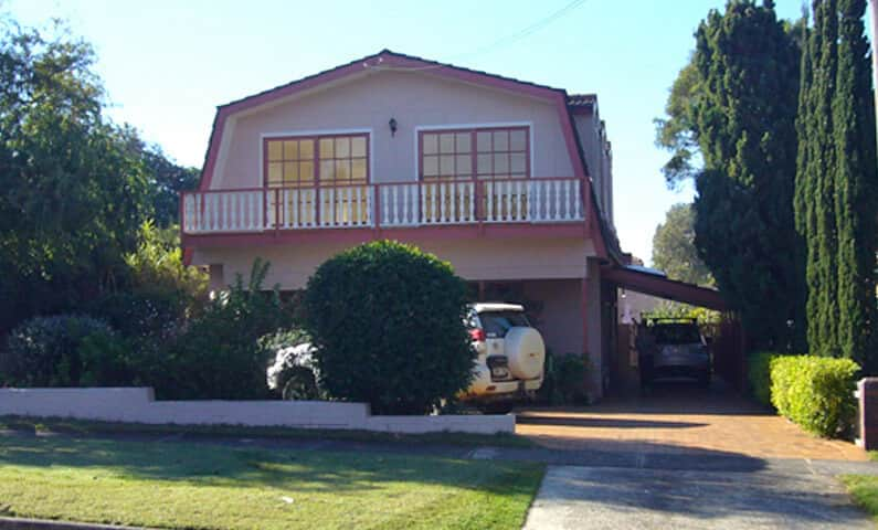 Gambrel House Balgowlah Heights - Existing house