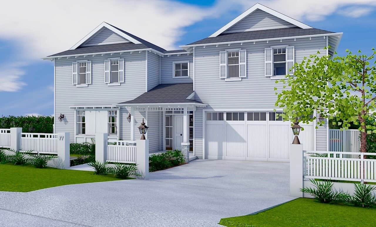 Architect Design 3d Concept Hampton 39 S Inspired Nth Balgowlah