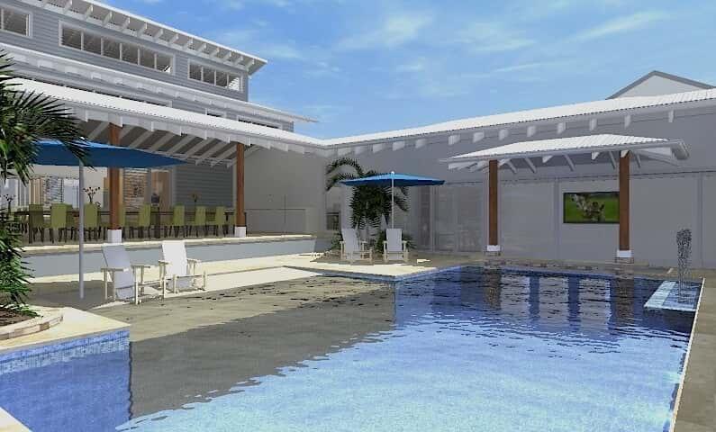 Architect Design 3D Concept Resort House Freshwater