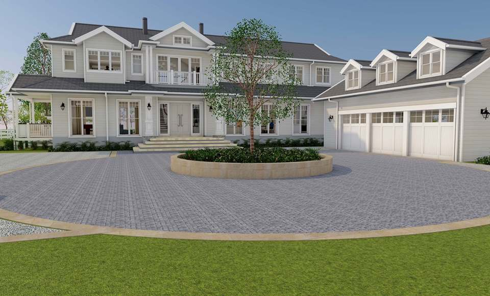 Hamptons Estate Darkes Forest - Design update