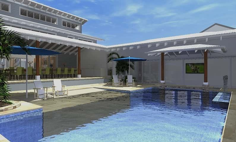 Resort House Freshwater - New Home Design